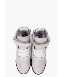Y-3 - Gray Hayworth Mid Ii Sneakers for Men - Lyst