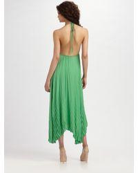 Alice + Olivia - Green Adalyn Keyhole Maxi Dress - Lyst