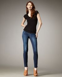 Citizens of Humanity | Blue Avedon Spectrum Skinny Jeans | Lyst