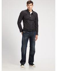 DIESEL | Black Jupenno Jacket for Men | Lyst