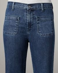J Brand - Blue Bette Mystery High-rise Flared Jeans - Lyst