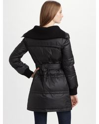 Marc By Marc Jacobs - Black Kent Long Down Puffer Coat - Lyst