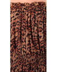 Rachel Zoe - Multicolor Panther Print Maxi Dress - Lyst