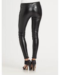 Sachin & Babi | Black Faux Leather Zucko Pants | Lyst