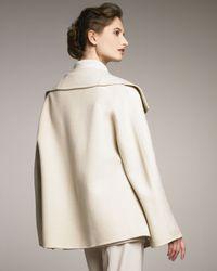 Shamask - Natural Shawl-collar Jacket - Lyst