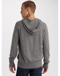 T By Alexander Wang - Gray Pullover Hoodie for Men - Lyst