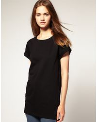 ASOS Collection | Black Asos Boyfriend T-shirt | Lyst