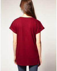 ASOS Collection | Black Asos Boyfriend T-shirt | Lyst