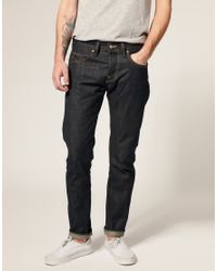 Edwin | Blue Ed55 Japanese Granite Tapered Jeans for Men | Lyst