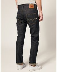 Edwin - Blue Ed55 Japanese Granite Tapered Jeans for Men - Lyst