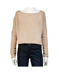 The Row | Natural Chilvers Sweater in Oatmeal | Lyst