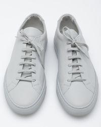 Common Projects - Gray Original Achilles Low for Men - Lyst