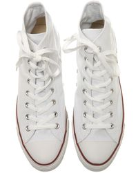Converse | White Converse All Star Hi Plimsolls for Men | Lyst