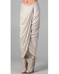 Doo. Ri - Natural Long Tulip Skirt - Lyst