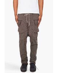 DRKSHDW by Rick Owens | Gray Harem Lounge Pants for Men | Lyst