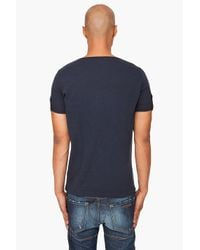 DSquared² | Blue Classic Fit Logo T-shirt for Men | Lyst