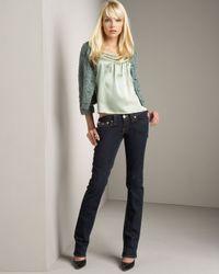 True Religion | Black Billy Jeans | Lyst