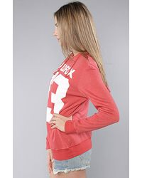 Wildfox - Red 83 Hoodie - Lyst