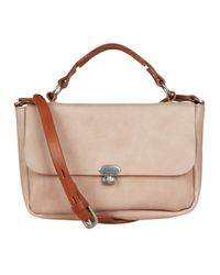 Ally Capellino | Natural Sand Lorraine Mini Satchel Bag | Lyst