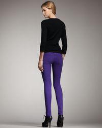 Joe's Jeans Chelsea Skinny Pants, Purple