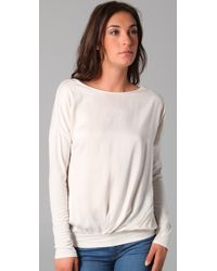 Velvet By Graham & Spencer - Natural Vista Top - Lyst