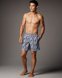 Vilebrequin | Blue Moorea Starfish Swim Trunks for Men | Lyst