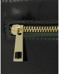 ASOS Collection | Green Asos Flat Zip Contrast Clutch | Lyst