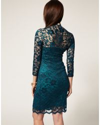 ASOS Collection - Green Asos Maternity Katie Lace Dress - Lyst