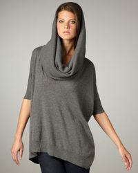 Autumn Cashmere   Gray Cowl-neck Sweater   Lyst