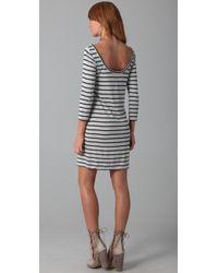 Club Monaco - Gray Courtney Dress - Lyst