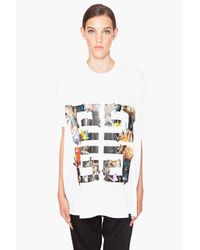Givenchy | White Jungle T-shirt | Lyst