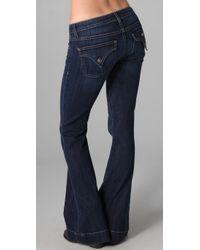 Hudson Jeans - Blue Ferris Petite Flare Jeans - Lyst