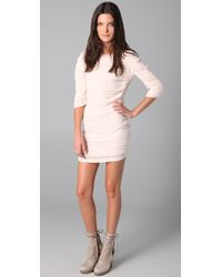 IRO | Natural Zanita Layered Dress | Lyst