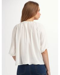 Joie - White Newbury Top - Lyst