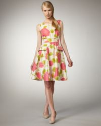 kate spade new york | Multicolor Wynne Floral-print Dress | Lyst
