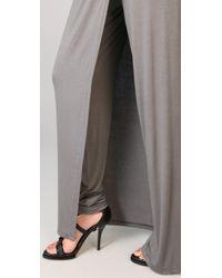 Kimberly Ovitz - Gray Canute Long Skirt - Lyst