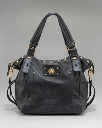Marc By Marc Jacobs | Black Turnlock Helena Tote | Lyst