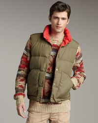 Polo Ralph Lauren | Green Grafton Reversible Puffer Vest for Men | Lyst