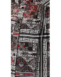 Preen By Thornton Bregazzi | Gray Aztec Tea Dress | Lyst