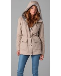 Torn By Ronny Kobo - Natural Sofia Fur Parka - Lyst