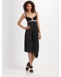 VPL | Black Tidal Shift Dress | Lyst