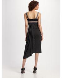 VPL | Black Tidal Shift Dress | Lyst