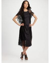 Zimmermann | Black Good Love Floating Dress | Lyst