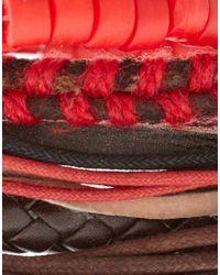 ASOS Collection - Multicolor Asos Comanche Bracelet Pack for Men - Lyst