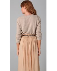Chinti & Parker - Natural Pocket Sweater - Lyst