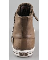 Ash - Brown Virgin 4 Buckle Sneakers - Lyst