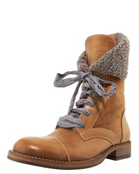 Brunello Cucinelli | Brown Low Hiker Boot | Lyst