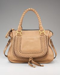 Chloé | Brown Marcie Braided Satchel, Medium | Lyst