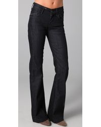 Citizens of Humanity | Blue Hutton Wide Leg Jeans | Lyst