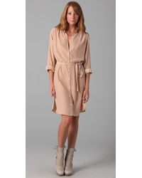 Club Monaco | Natural Hollie Dress | Lyst